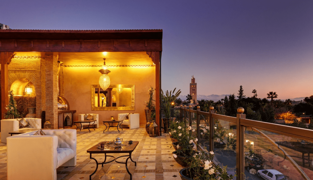 Riad Wow terrace Marrakech
