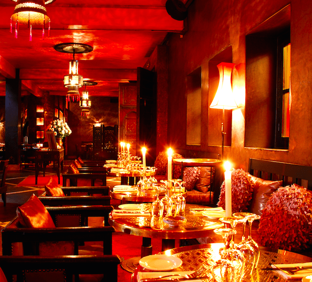 Top 5 bars and restaurants in Marrakech