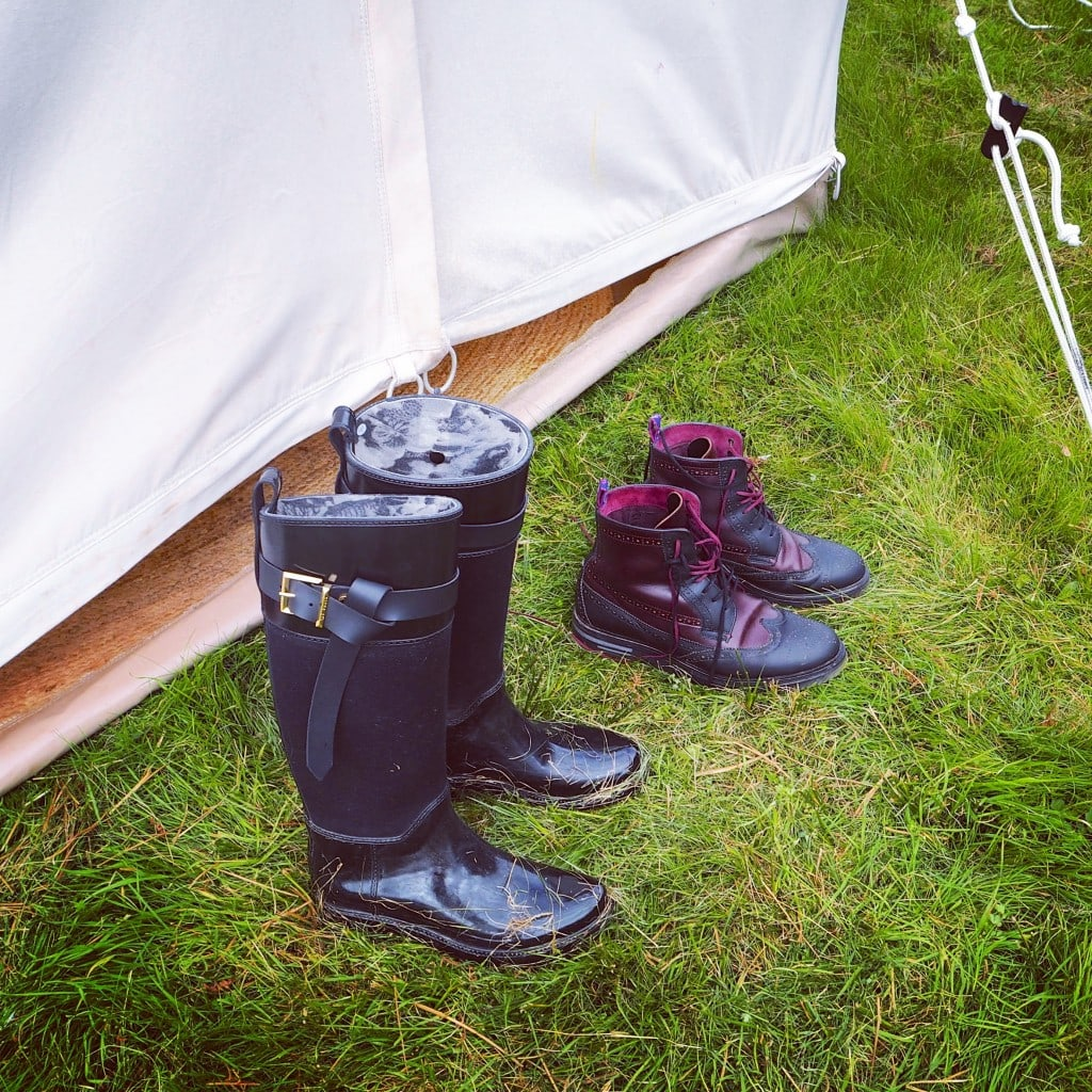 Ted Baker shoes, Boutique camping festival no. 6