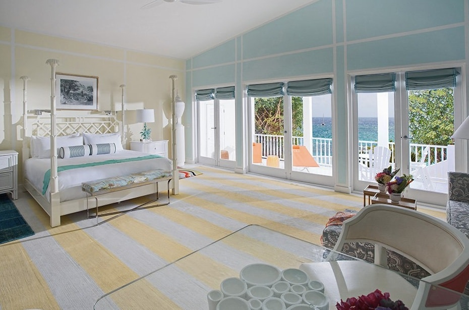 Bedroom hotel Maliouhana Anguilla The Style Traveller