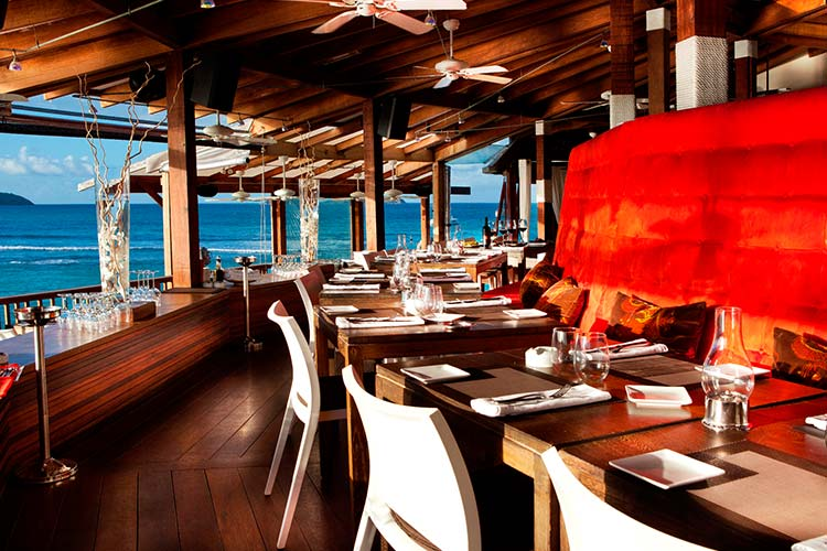 Eden Rock Restaurant St Barths The Style Traveller