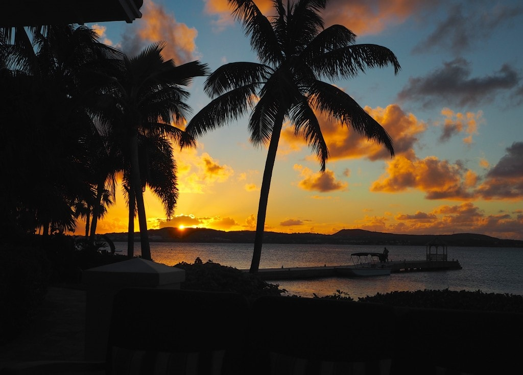 Caribbean Sunset image credit TheStyleTraveller.com Jumby Bay