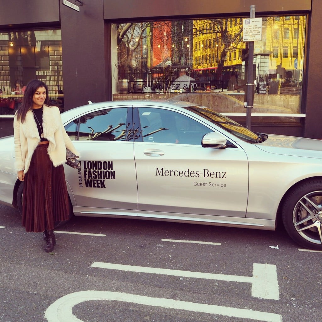 Bonnie Rakhit London Fashion Week Mercedes Benz