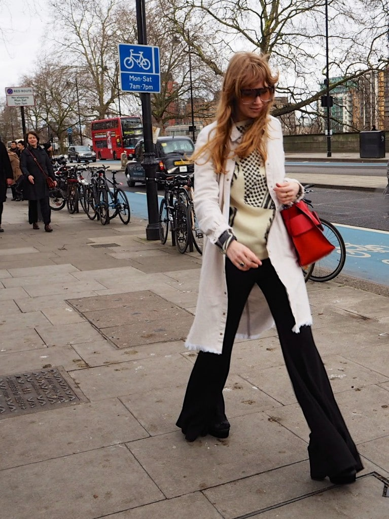Street style London fashion week 2