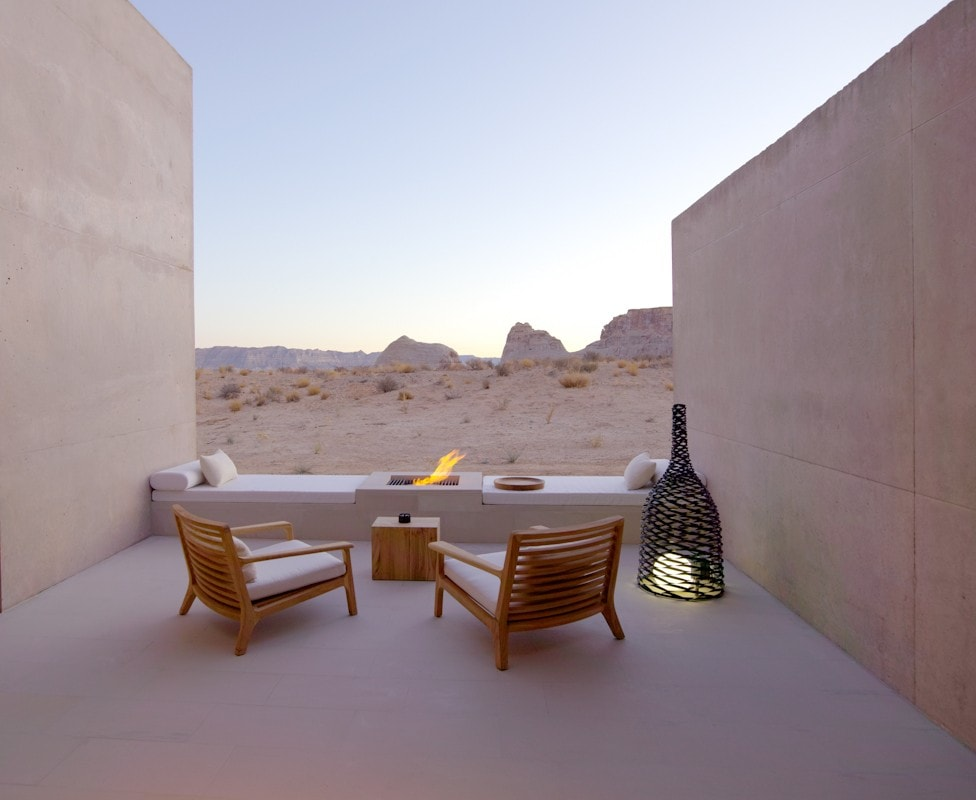 giri amangiri suite desert lounge The Style traveller