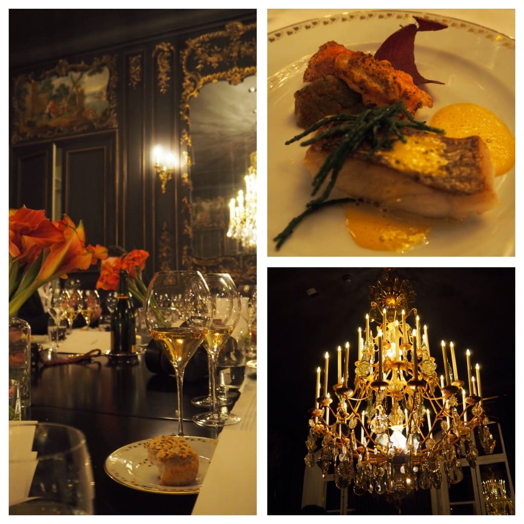 The Style Traveller Veuve Clicquot rich chateau dinner