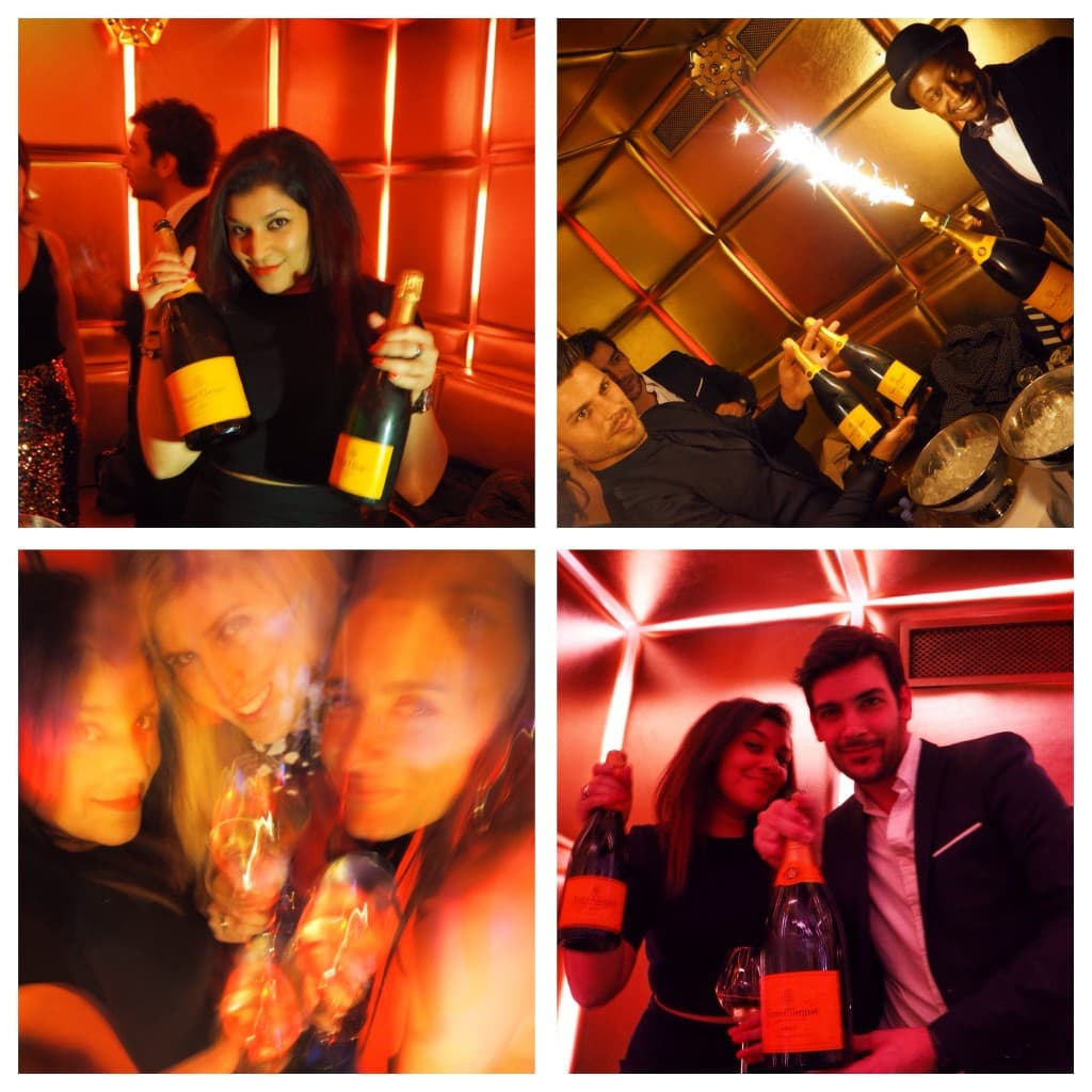 The Style Traveller Veuve Clicquot rich brand ambassador party