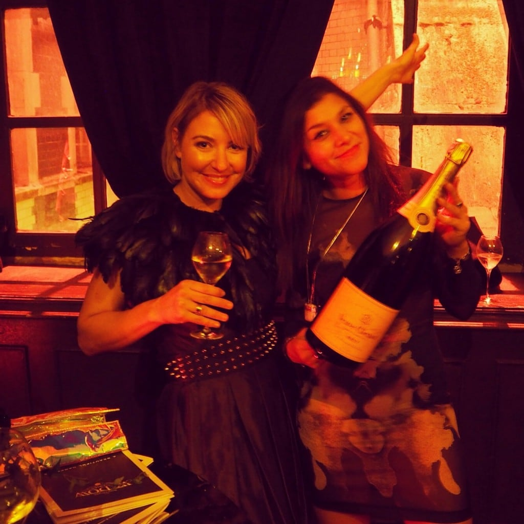 The Style Traveller Veuve Clicquot brand ambassador halloween party urban junkies