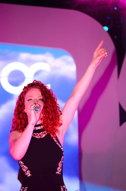 Jess Glynne Ocean Club opening party Competition