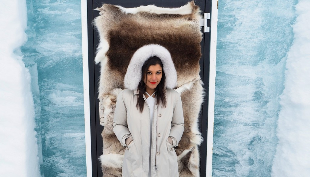 The Style Traveller Bonnie Rakhit Ice Hote Woolrich