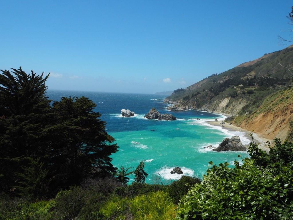 Julia Pfeiffer State Park Big Sur The Style Traveller