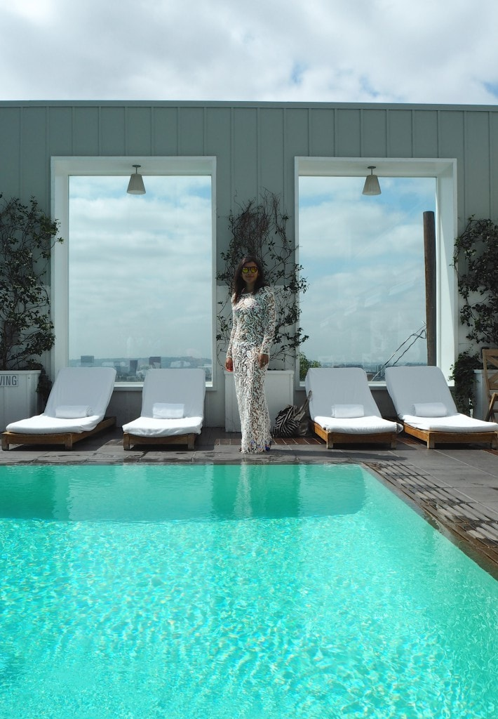 Bonnie Style Traveller pool mondrian LA