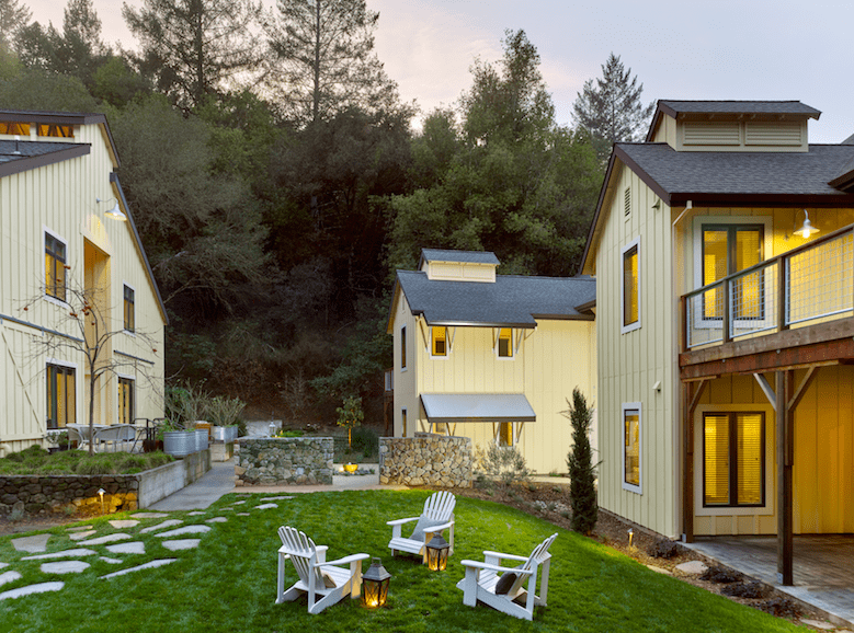 Sonoma Farmhouse Inn boutique Hotel