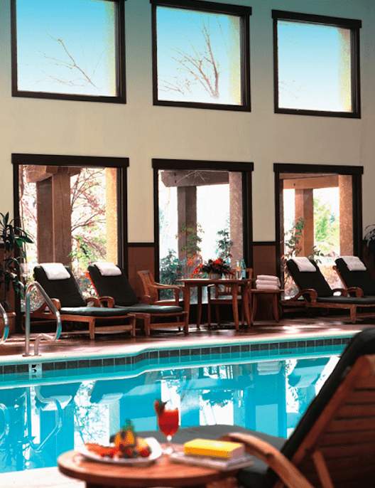Tenaya Lodge Luxury hotel swimming pool The Style Traveller