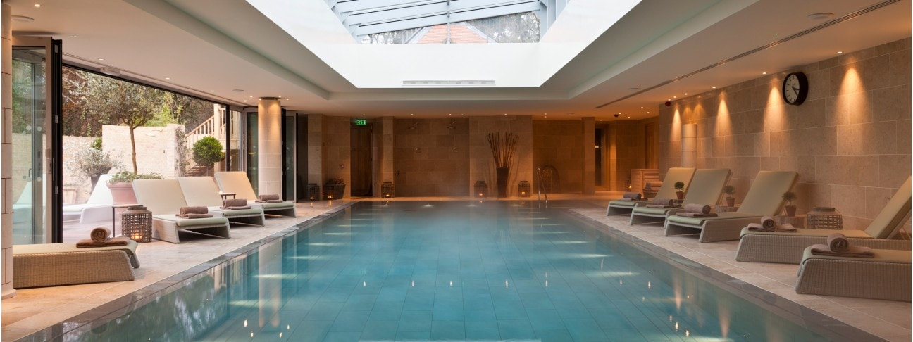 Swimming Pool And Spa Limewood Hotel The Style Traveller New Park Manor Forest