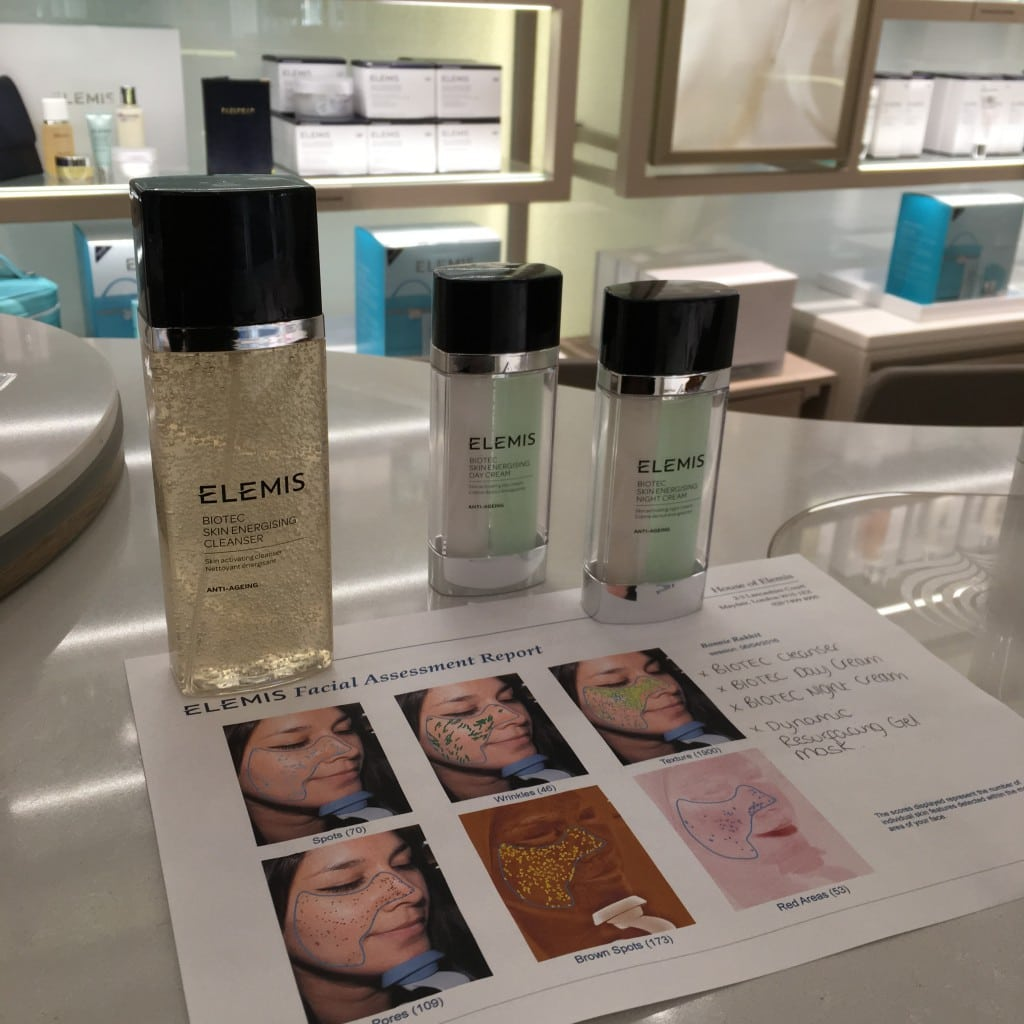 The Style Traveller elemis day spa