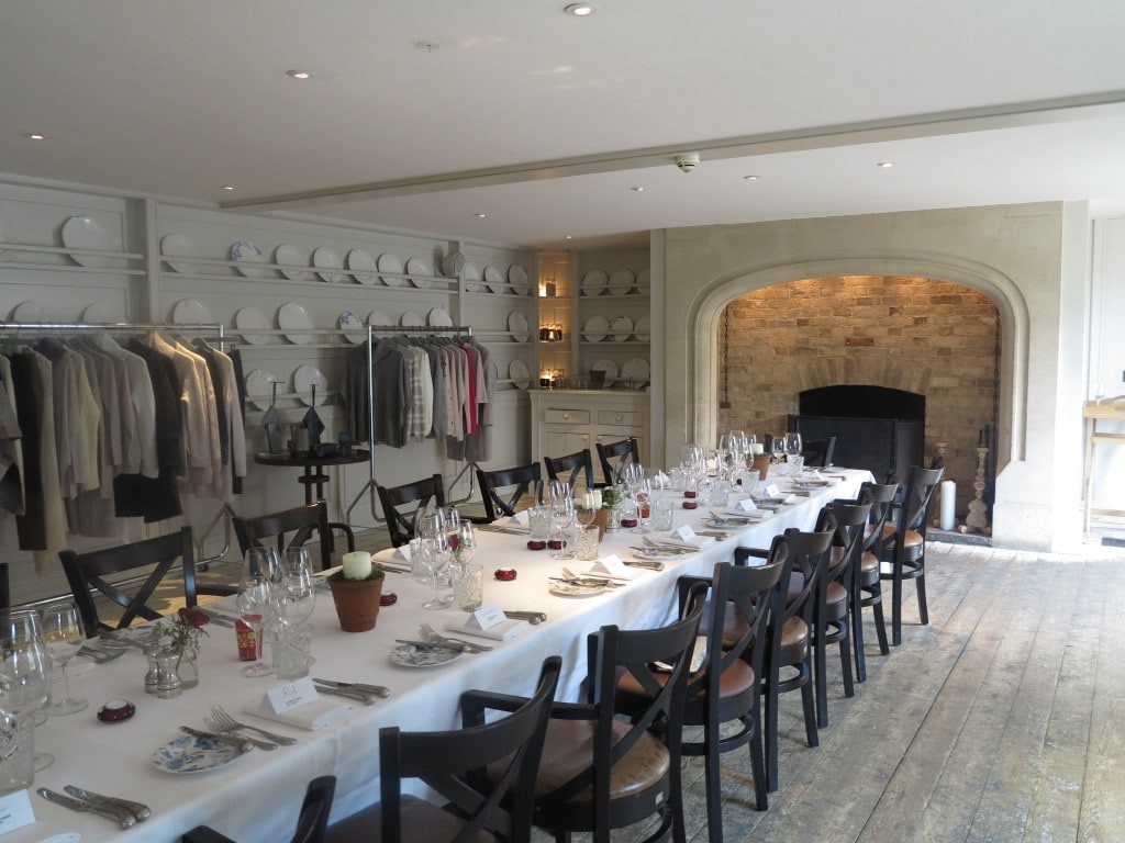 pure collection dinner Limewood