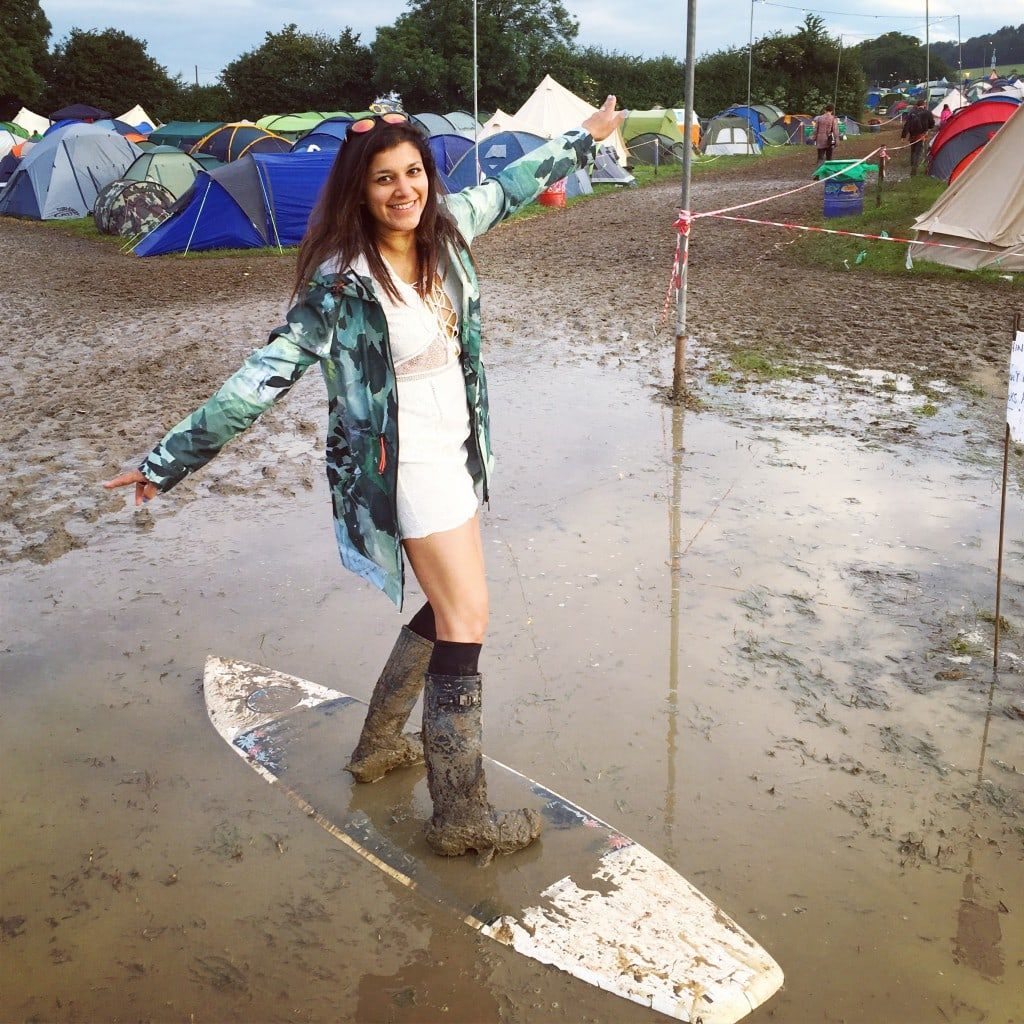 Mud bath glastonbury 2016 The Style traveller Bonnie