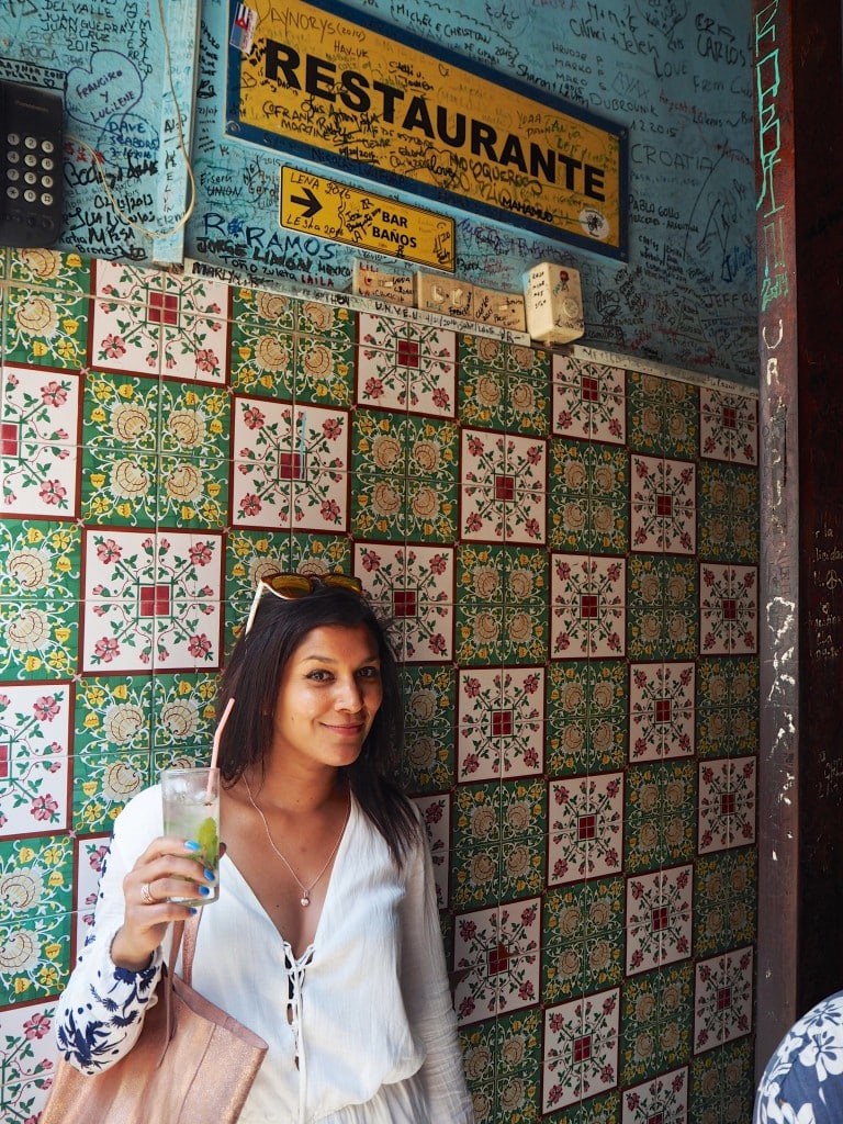 the style traveller La Bodeguita del Medio Havana bar