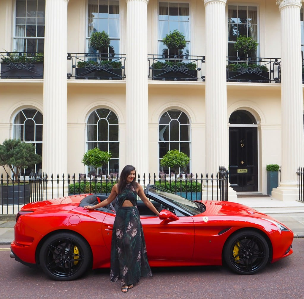 The Style Traveller Bonnie Rakhit Ferrari Cars