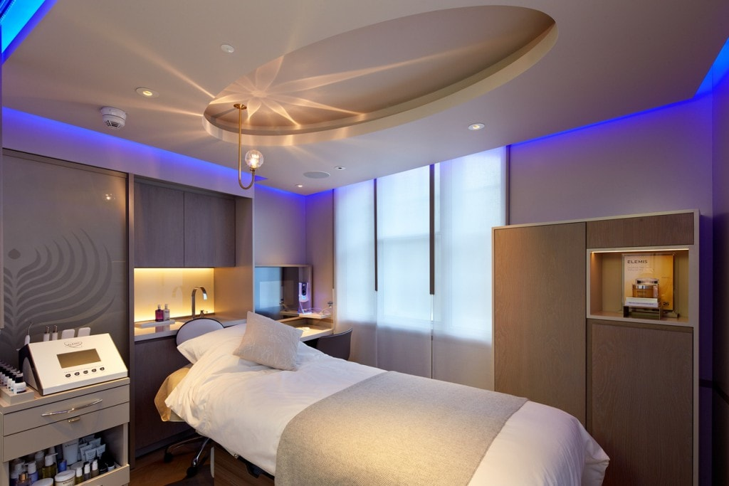 Elemis Day Spa London treatment room Style Traveller