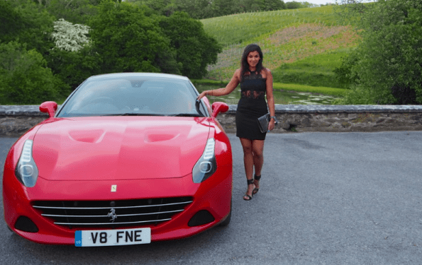 weekend with Ferrari at Langdon court hote