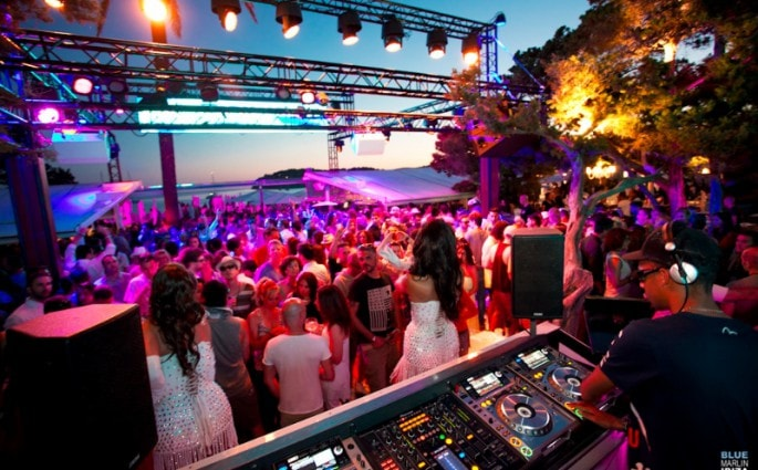 blue marlin ibiza luxury daytime clubs