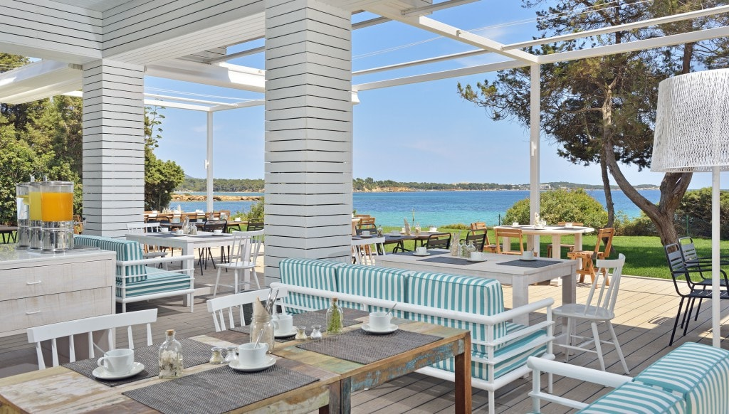 SolBeachHouse Ibiza Buffet breakfast Terrace