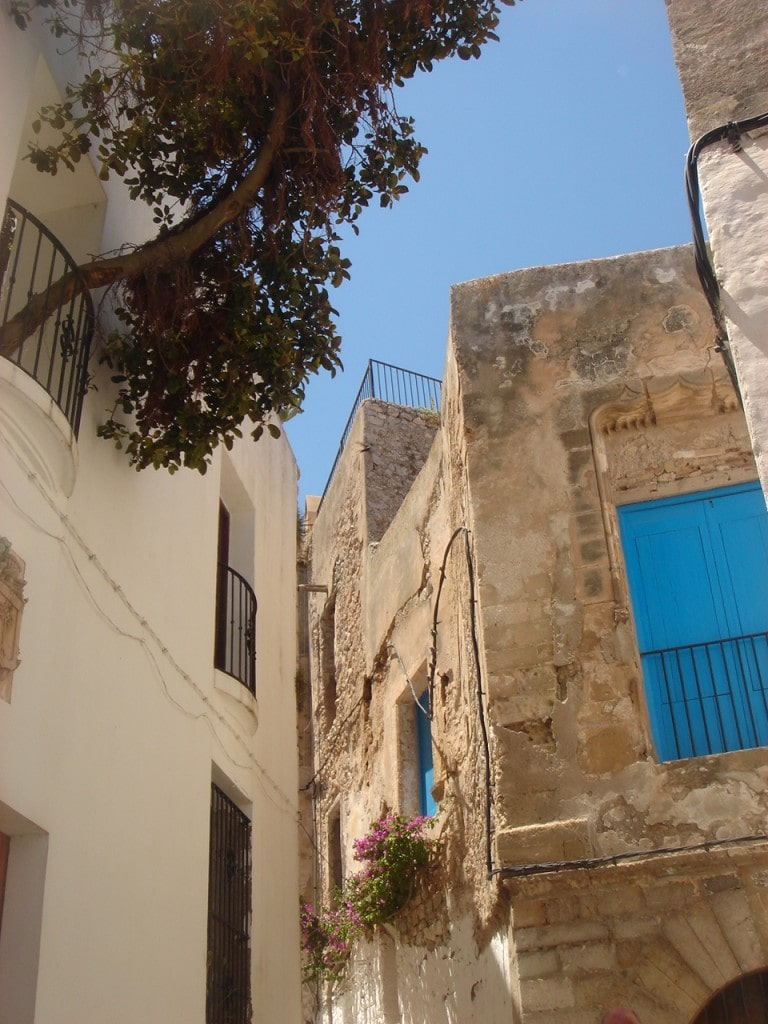 Ibiza old Town architecture