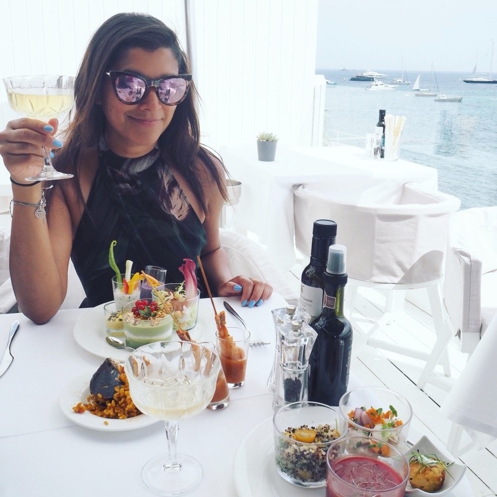 Bonnie Rakhit Ibiza Cotton Lounge Club Sunday Brunch