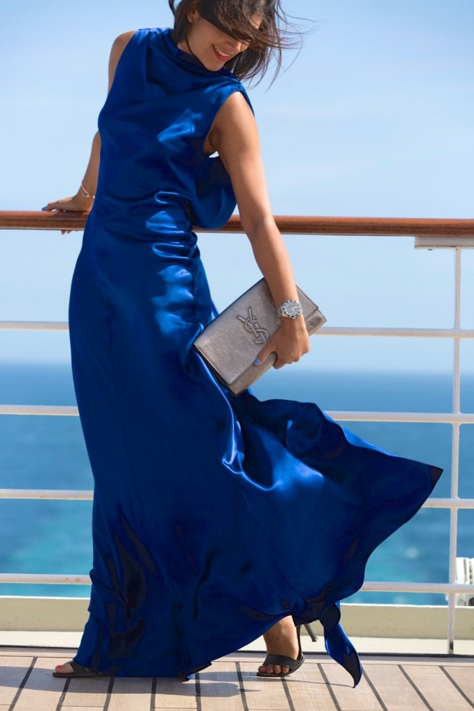 QM2 - Amanda Wakeley cruise wardrobe shoot