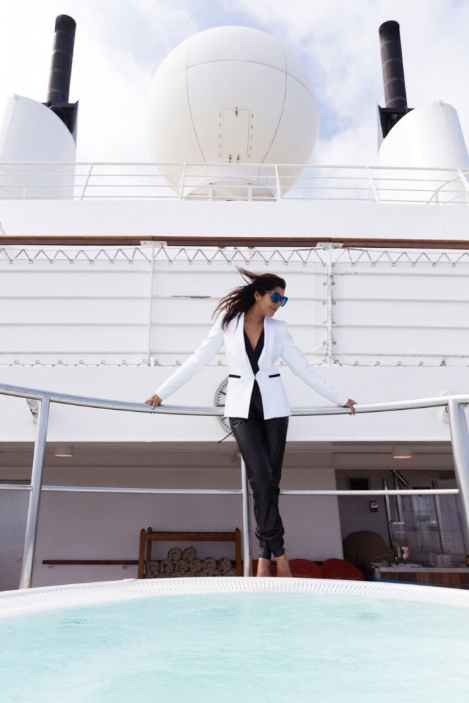 Amanda Wakeley tux on The Style traveller