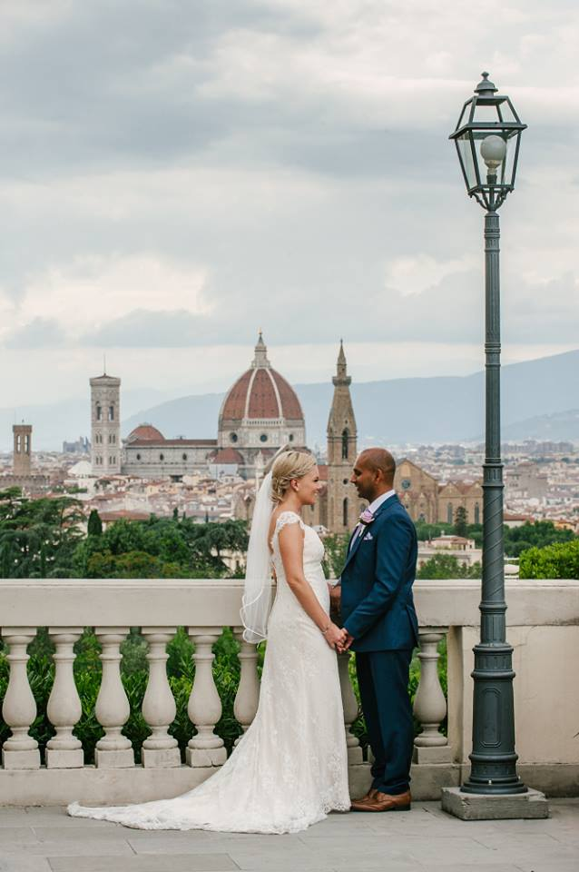 Italian wedding venue in Florence
