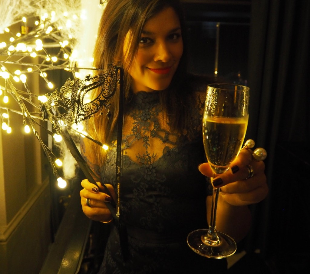 The Veuve Clicquot Halloween Masquerade Ball The Style Traveller