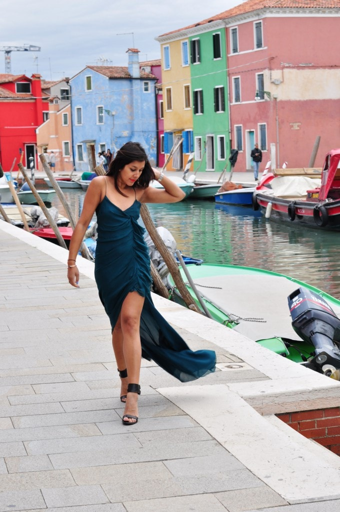 Bonnie Rakhit Burano Italy fashion packing