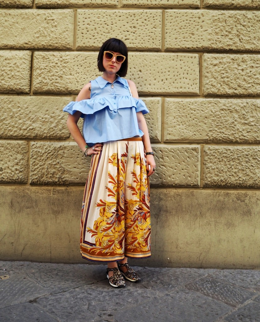Italian Street Style Florence The Style Traveller