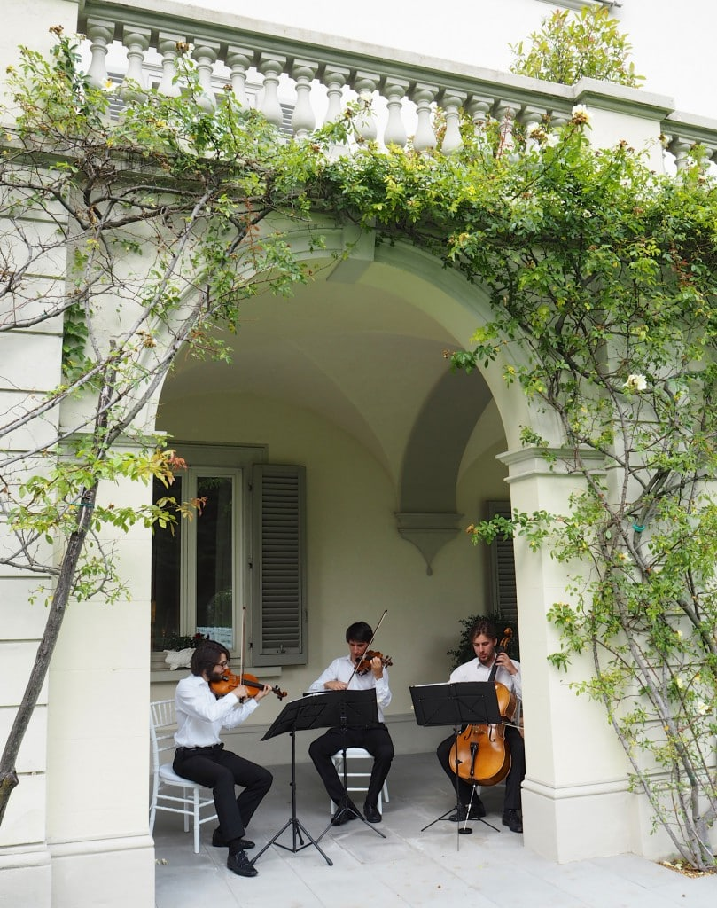 wedding string quartet italy