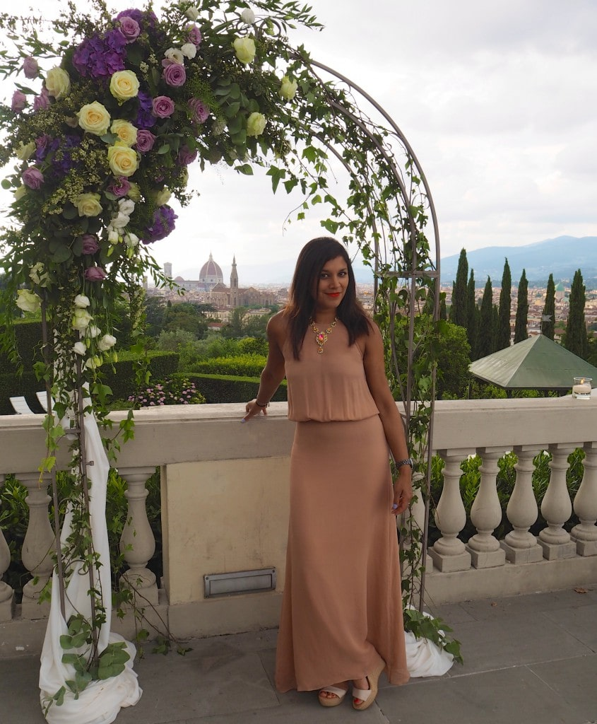 The Style Traveller Bonnie at Florence wedding