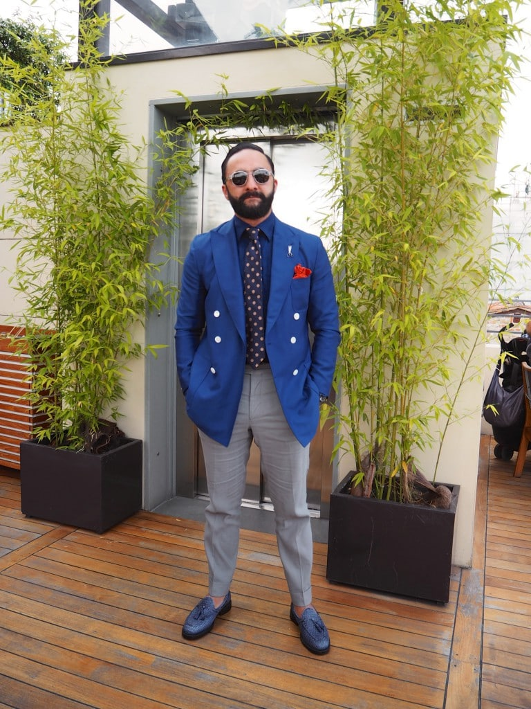 mens fashion blogger Italian fashion week pitti