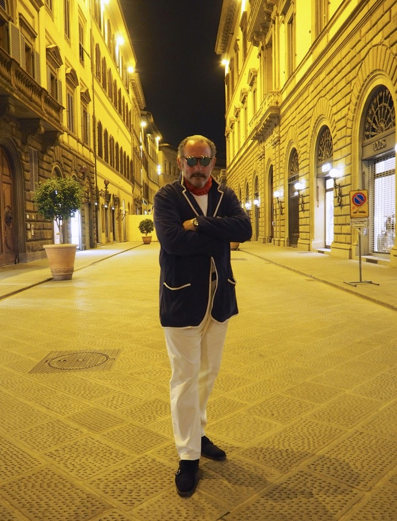 gentlemans fashion Italy florence