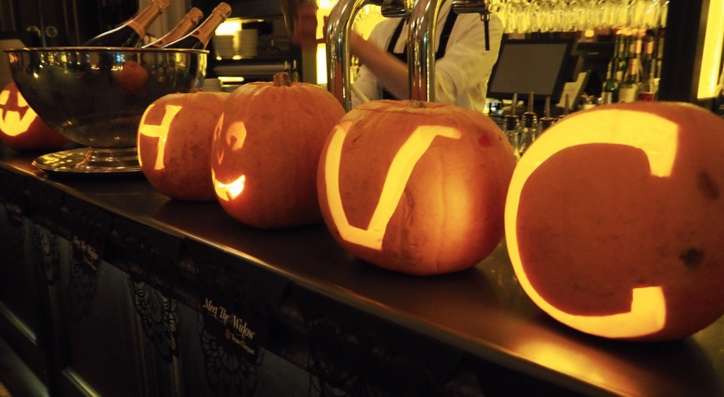 Veuve Clicquot Halloween Masquerade Ball scotland