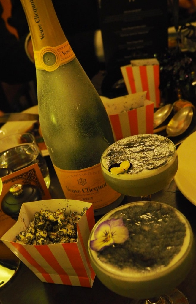 Veuve Clicquot Halloween Masquerade Ball scotland drinks