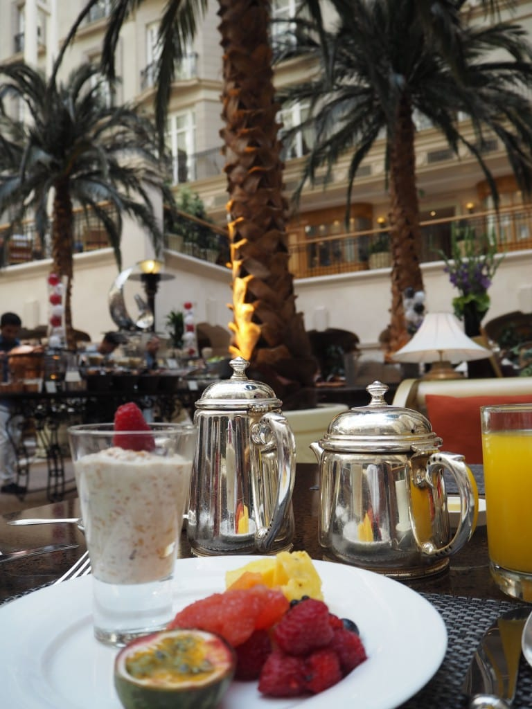 breakfast at the landmark