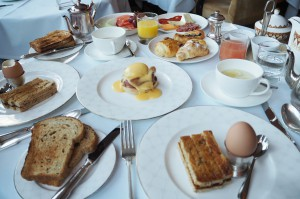 breakfast at Ellenborough Park