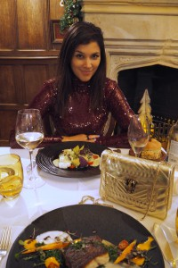 Xmas dinner at Ellenborough Park Spa Hotel