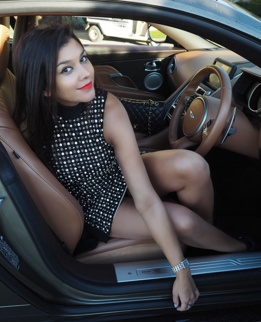 Aston martin girls weekend bonnie Rakhit