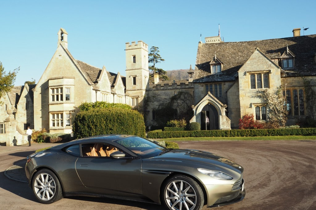 Girls road trip with Aston Martin