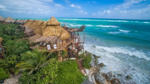 Azulik hip hotels Tulum Mexico