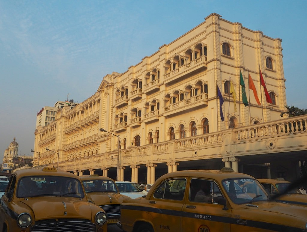 The oberoi Grand Kolkata exterior