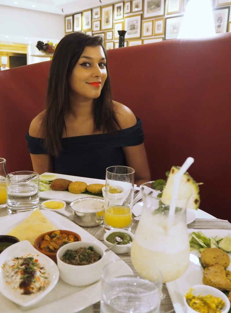 three sixty three restaurant the oberoi grand the style traveller Bonnie